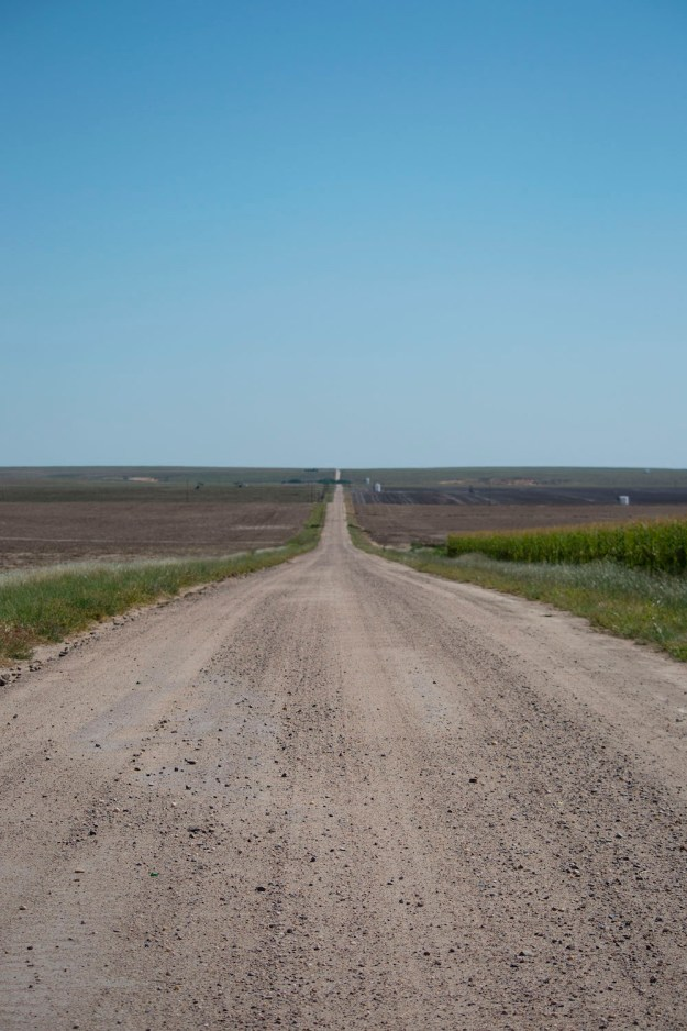 Kansas Road by An Unrefined Vegan