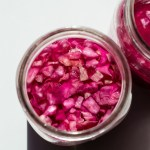 Sprinkling Salt Over Red Cabbage by An Unrefined Vegan