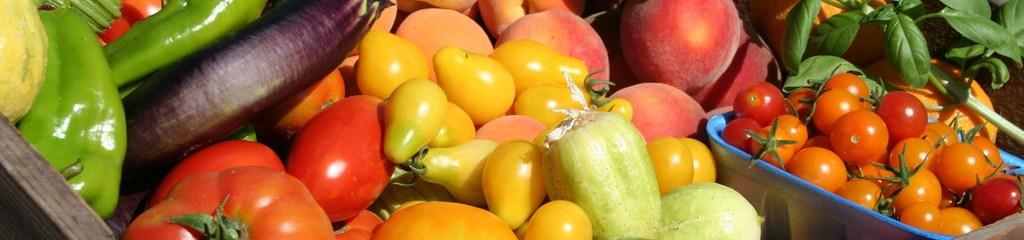 panier de legumes pour un regime