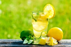 regime detox citron
