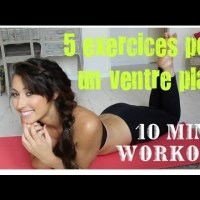 5 meilleurs exercices pour un ventre plat en 10 minutes!