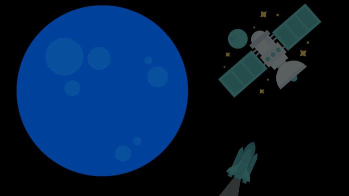Artistic illustration of planet Neptune