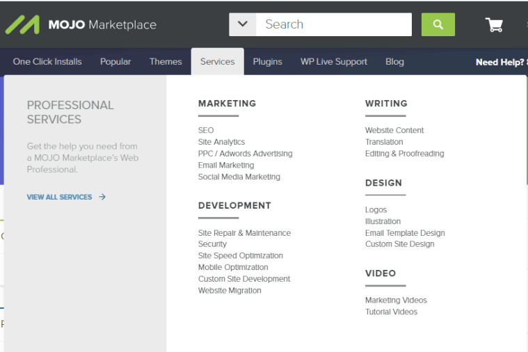MOJO Marketplace Review Services