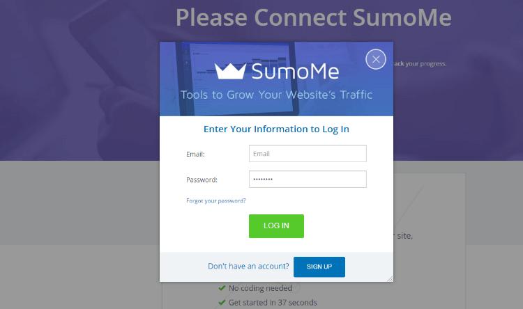 SumoMe Review Setup