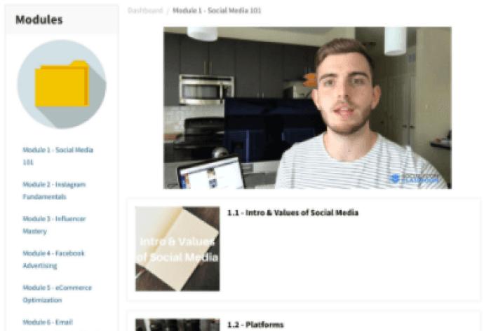 Social eCom Classroom Review