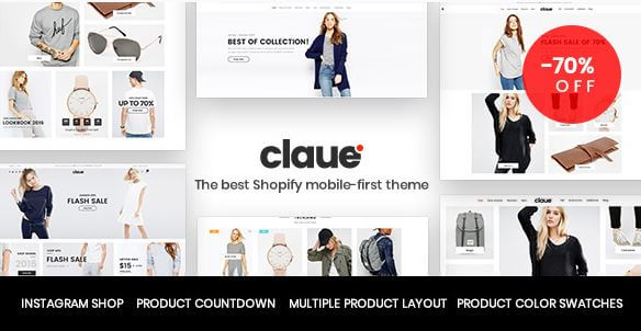 Claue Theme For Fashion and Clothing Niche