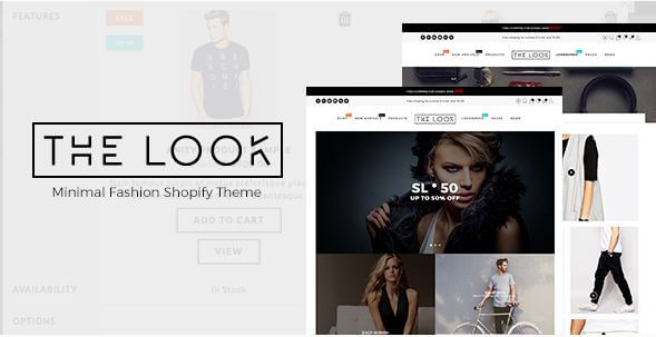The Look Theme For Fashion and Clothing Niche