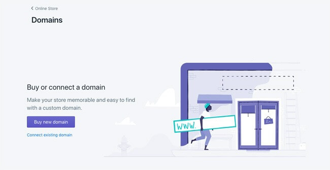 connecting domain to your ecommerce store