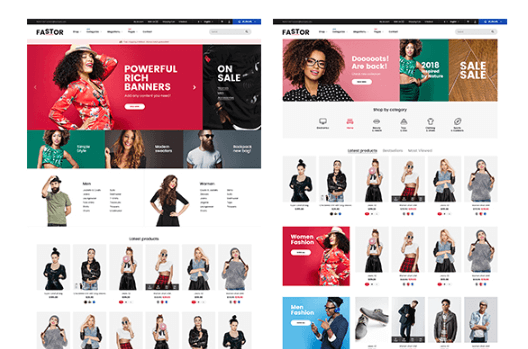 Fastor Theme For Fashion and Clothing Niche