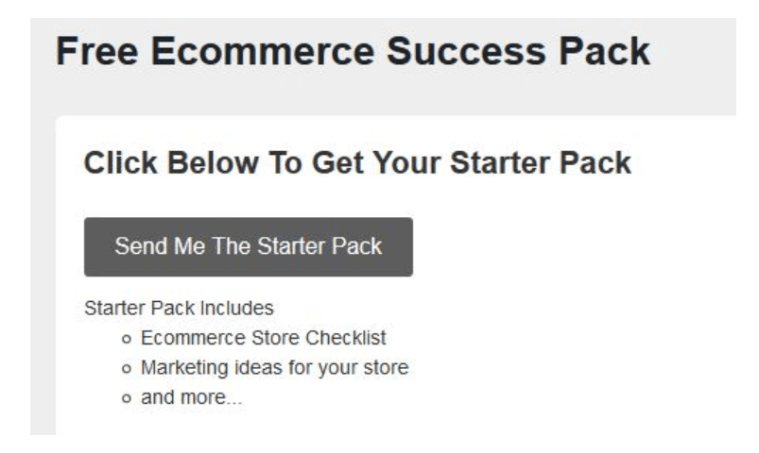 eCommerce Success Pack