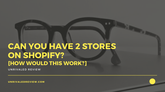Can You Have 2 Stores on Shopify [How Would This Work?]