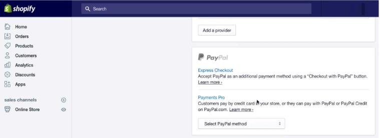 Shopify PayPal Setup