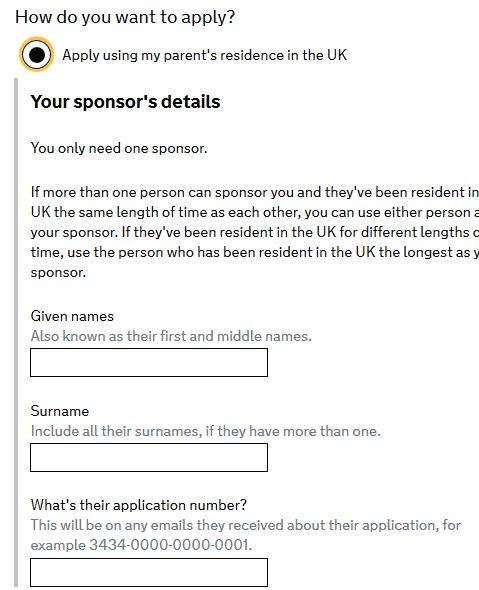 cum aplici pentru rezidenta copii 3 alege sponsor