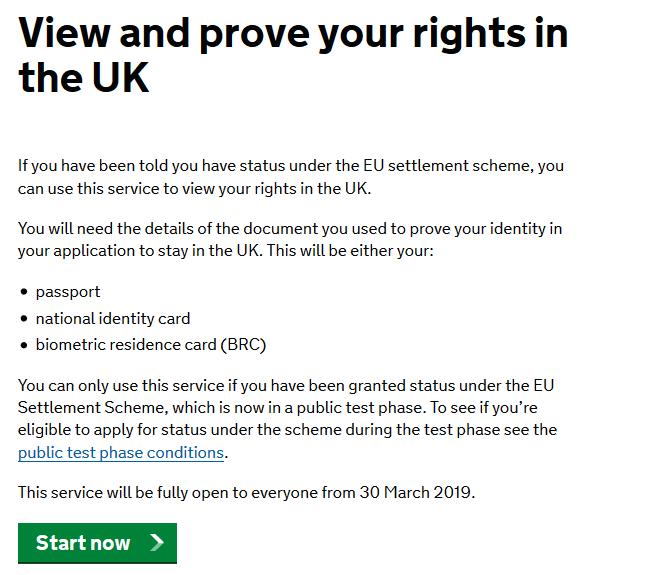 cum aplici pentru rezidenta in UK verifici statutul 1