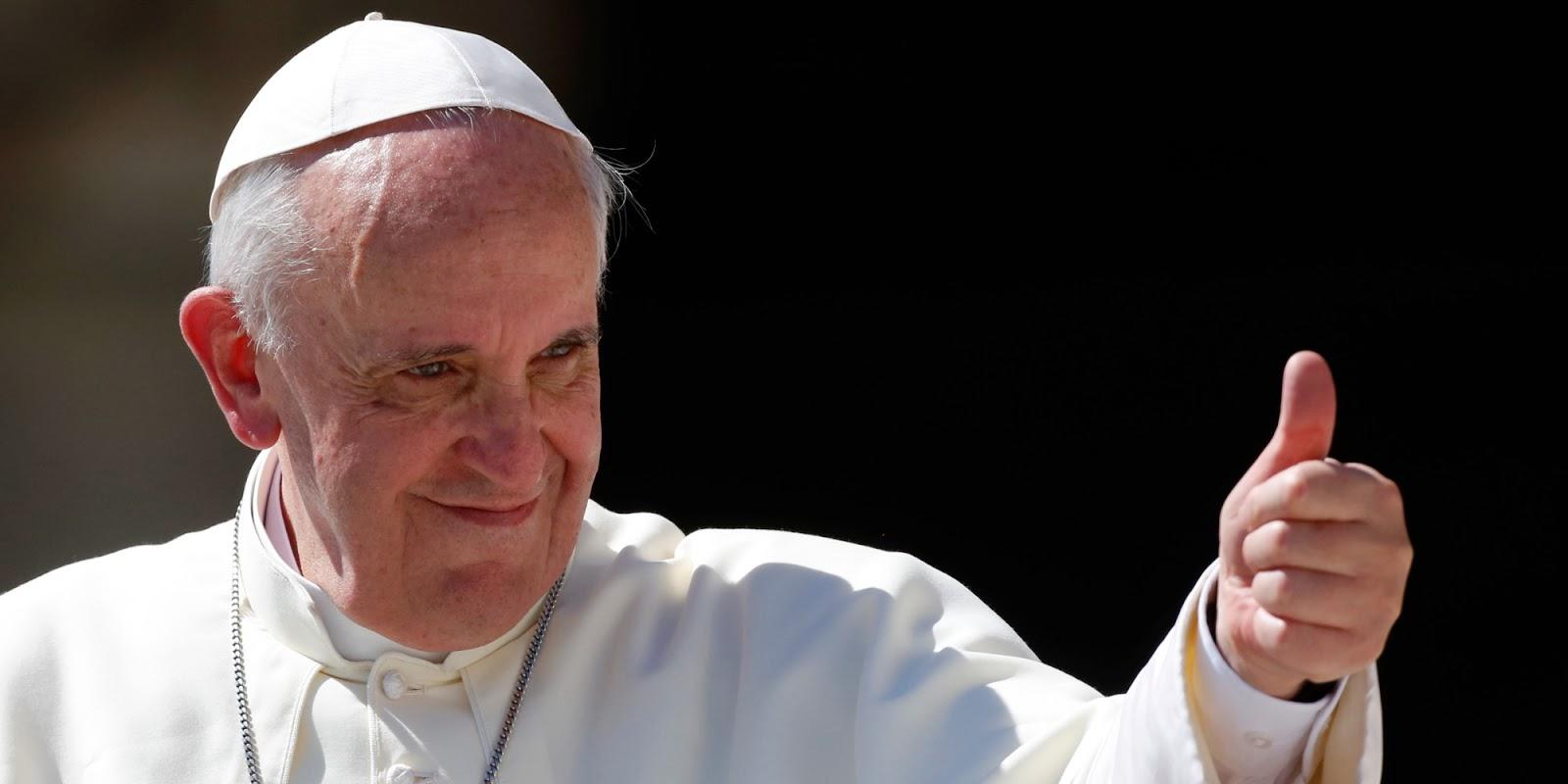 Felicidades Santo Padre
