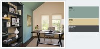 Best Home Office Paint Colors | Home Painting Ideas