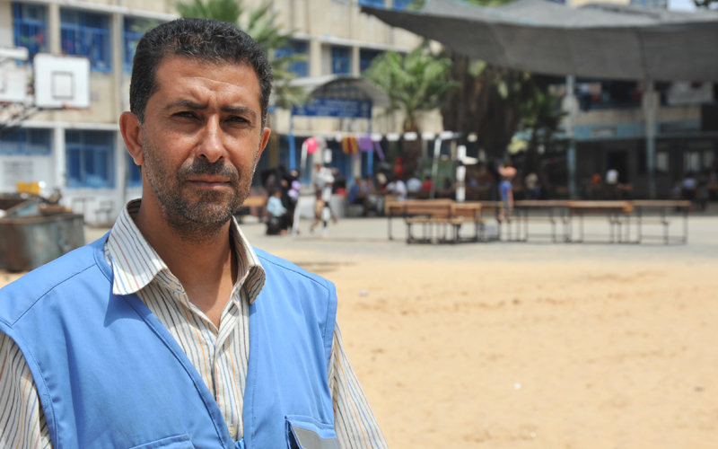 Gaza one year later: Amjad Oweida, UNRWA staff, August 2015