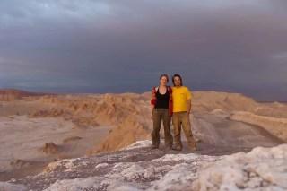 valle de la luna, Chili, Amerique, voyage, couple, voyageurs