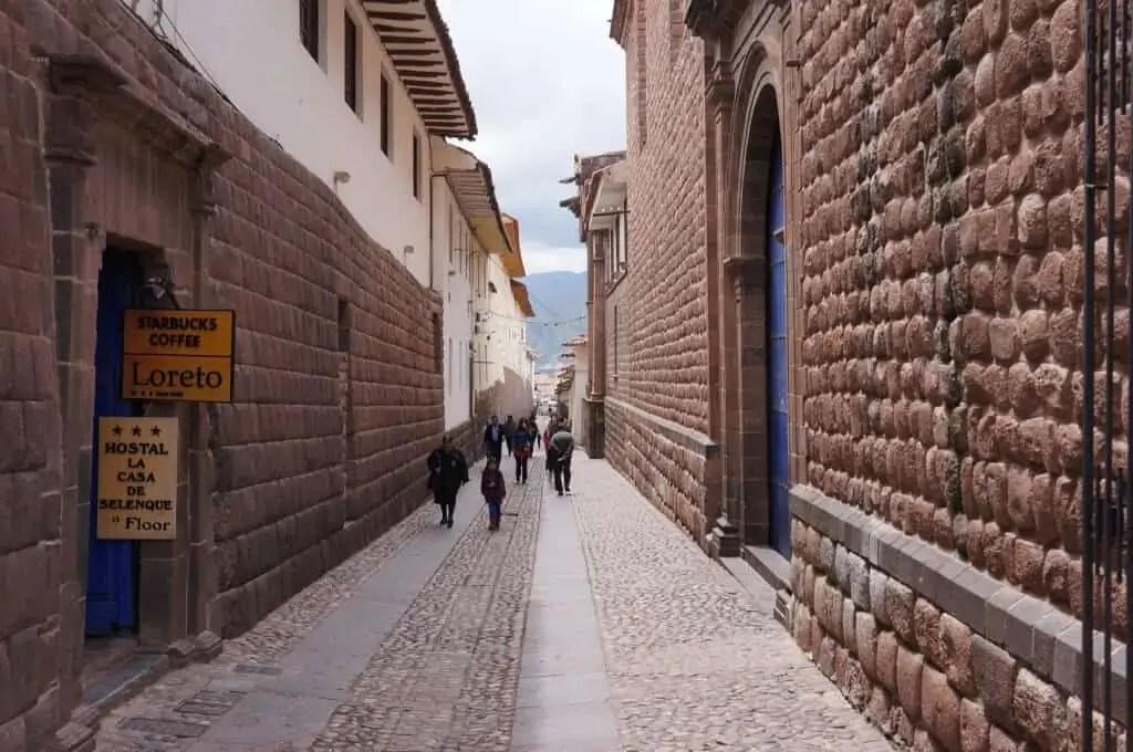 Ruelle du centre de Cuzco