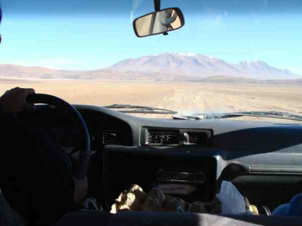Désert Dali Salar Uyuni Bolivie