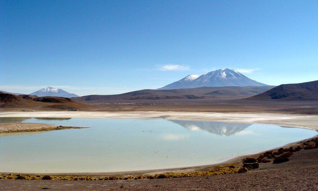 Lagune, Uyuni, desert, Salar, Bolivie