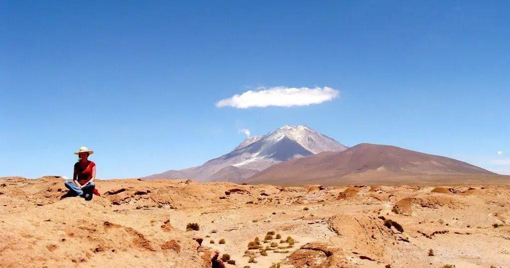 Amandine, vague de lave, volcan, Volcan Ollagüe, Bolivie
