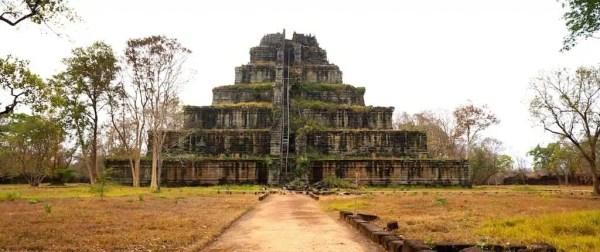 Koh Ker, Cambodge, Asie