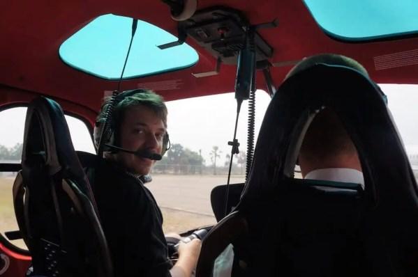 Hélicoptère, Angkor, Siem Reap, Cambodge