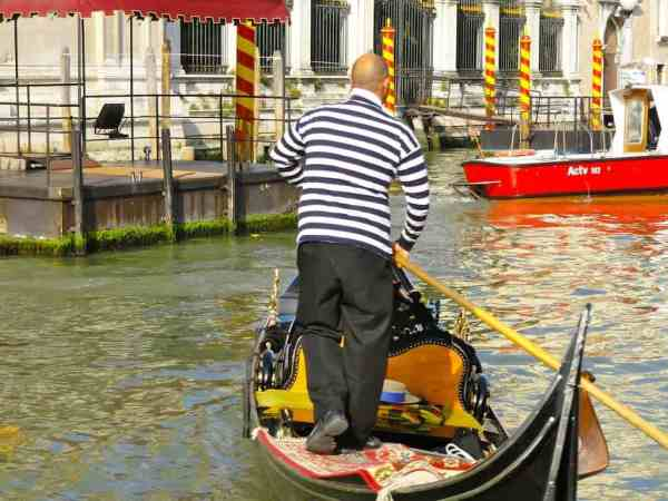 Venise, voyage, Italie, gondoles