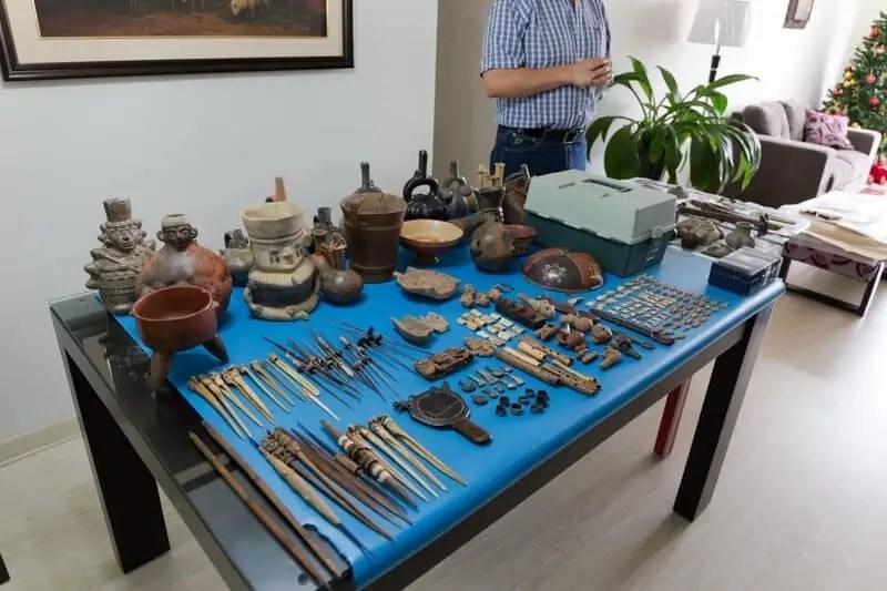 Lima, archéologie, céramique