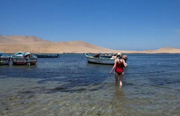 mer, Paracas, Pérou