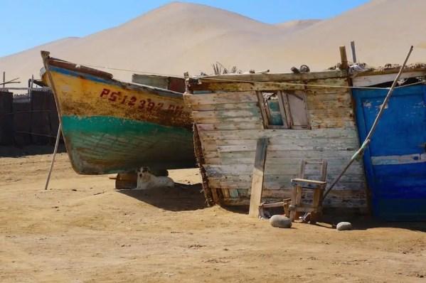 Paracas, Laguna Grande, Pérou