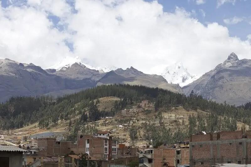 montagnes, Huaraz, Ancash