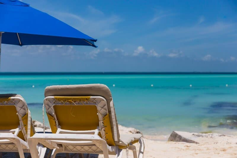 Isla Mujeres, Mexique, Yucatan, plage