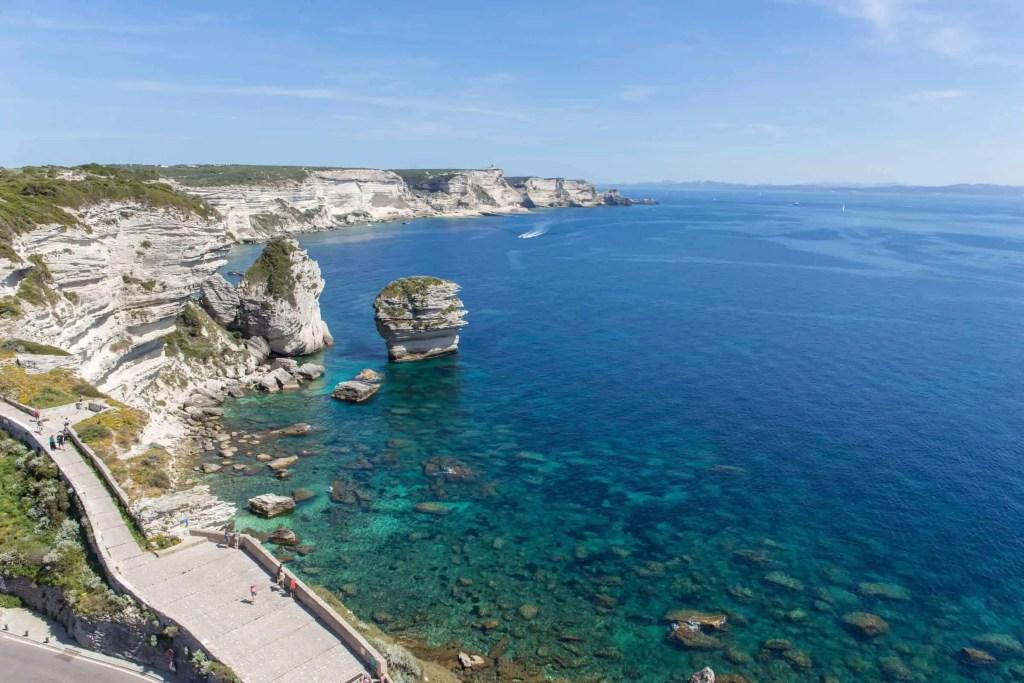 Bonifacio, Corse, roadtrip