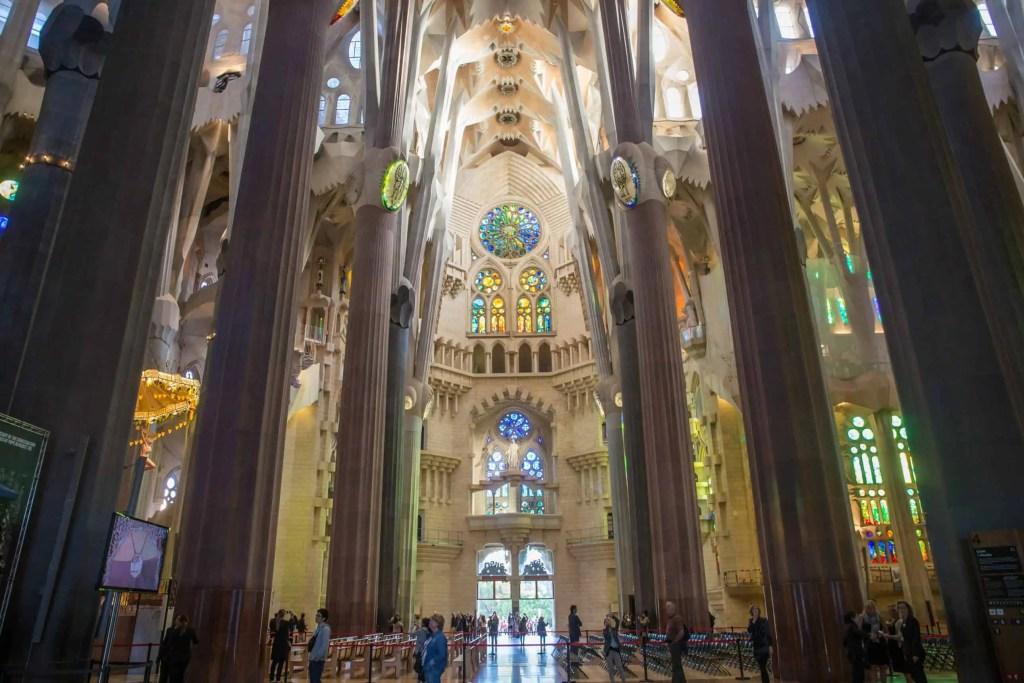 Barcelone, Gaudi, Sagrada Familia