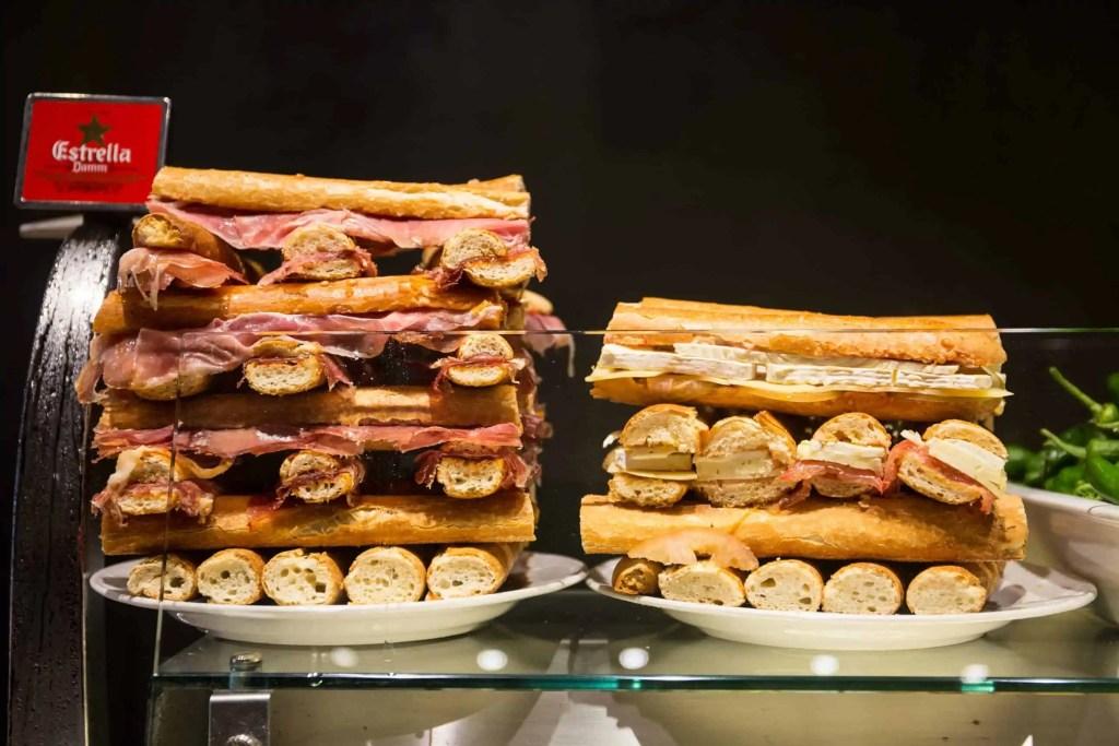 Tapas, Barcelone, gastronomie