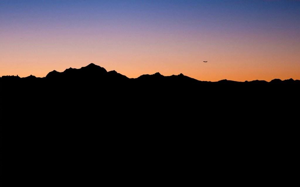 Montagnes du Jura, avion, montagne, France