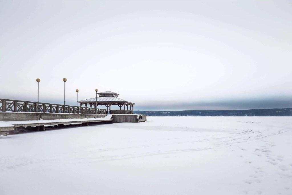 Finlande, voyage, hiver, Lahti, Päijänne