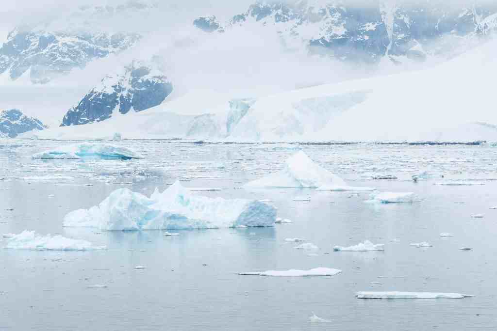croisière, Antarctique, iceberg