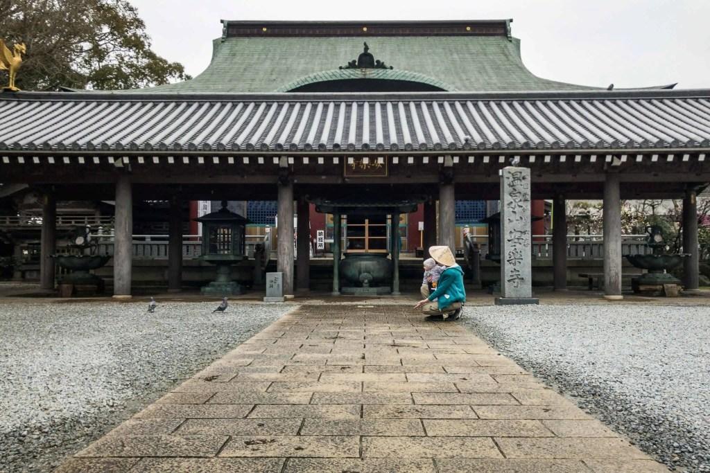 Shikoku, pèlerinage, pèlerin, famille, bébé, Japon, voyage, henro, ohenro, temple, maman, oiseau, nature, Amandine, Manea