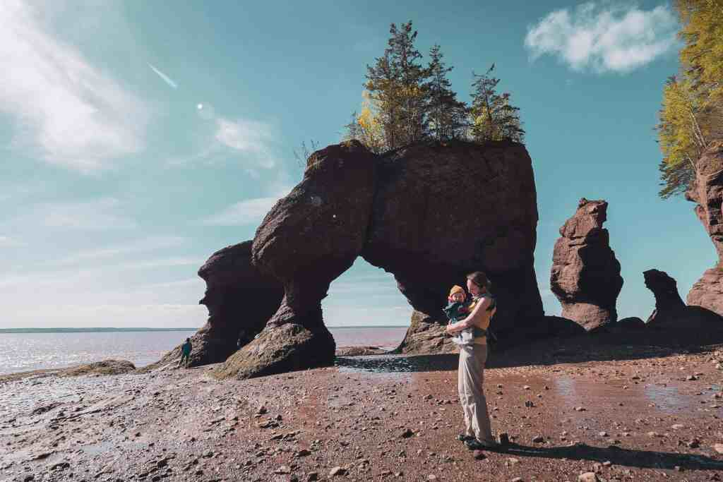 Nouveau Brunswick, Canada, voyage, roadtrip, Baie de Fundy, Hopewell Rocks