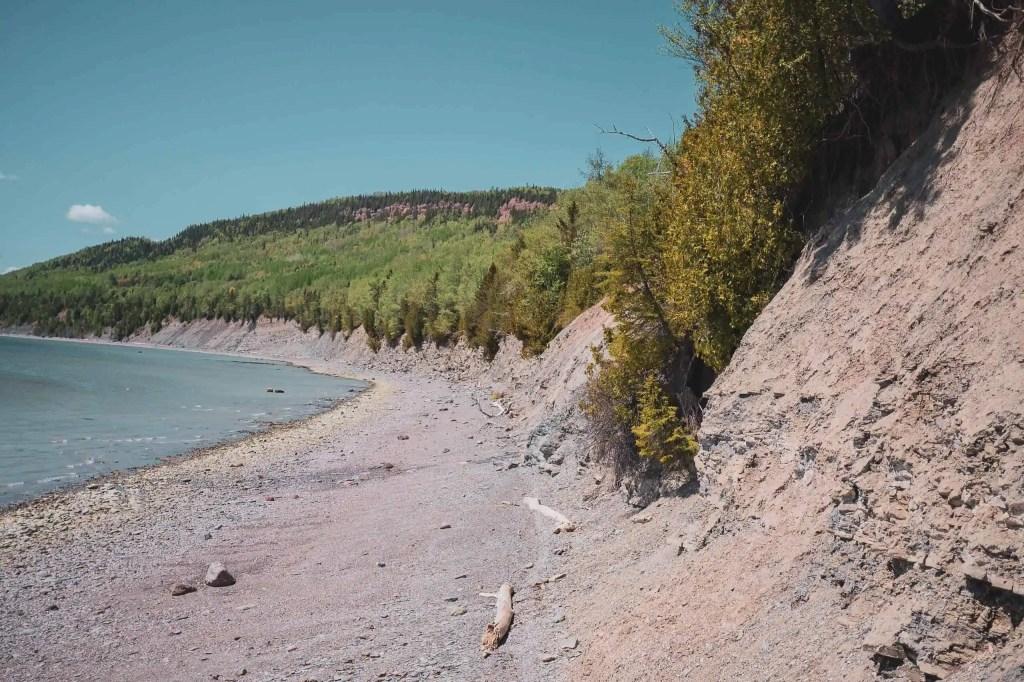 parc national de Miguasha, Québec, Canada, Québec Maritime, Gaspésie, paléontologie