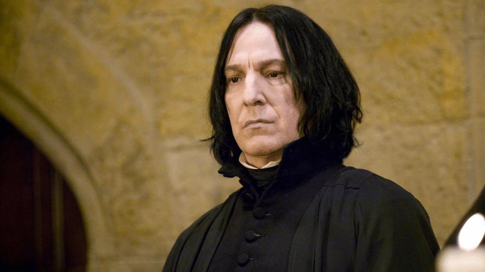 Alan Rickman as Professor Snape. Image via The Nerdist