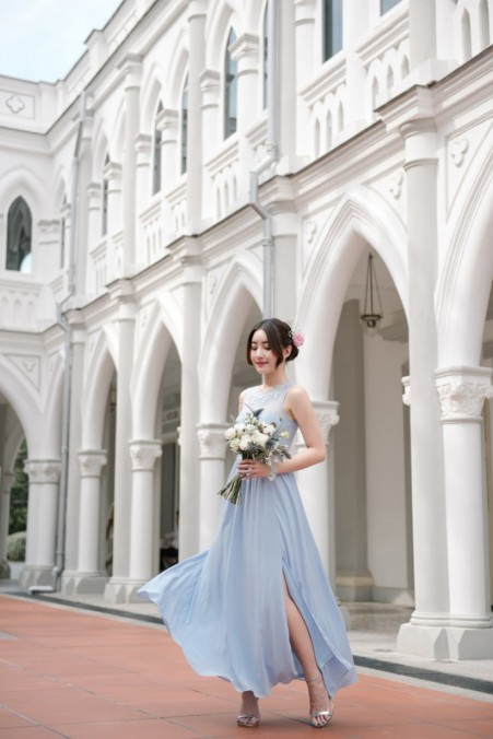 Bridesmaid dress Thread Theory One In A Million Maxi Dress (Periwinkle)