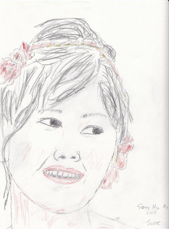 Song hye kyo sketch