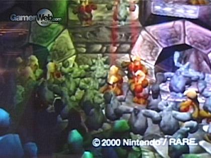 Banjo Threeie GameCube Tech Demo Unseen64