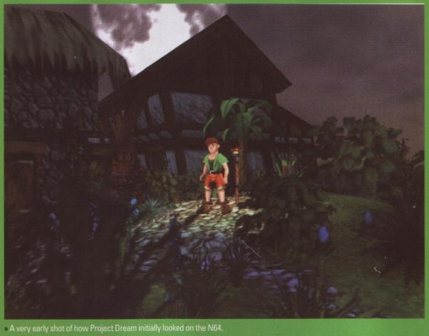 Project Dream Banjo Kazooie N64 Beta Proto Test