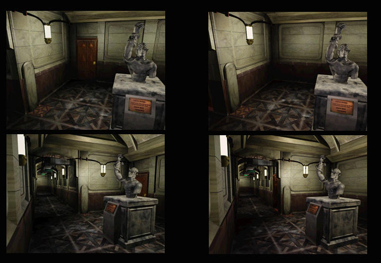 Resident Evil 2 Beta Backgrounds Comparison  Unseen64