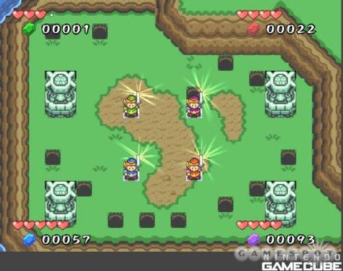 The Legend Of Zelda Four Swords Adventures GC Beta